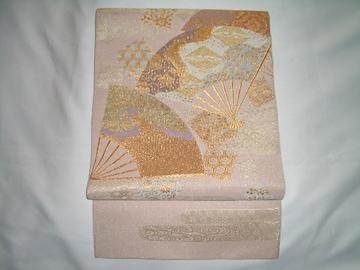 扇紋様 袋帯