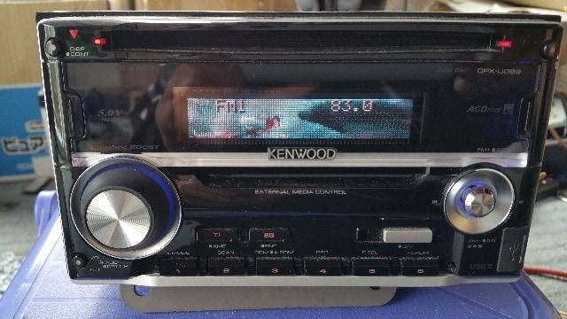 KENWOOD!ケンウッド!CDデッキ DPX-U099 < 自動車/バイク
