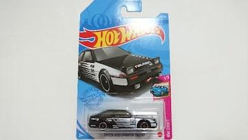 [ホットウィール]トヨタ AE86 スプリンター トレノ