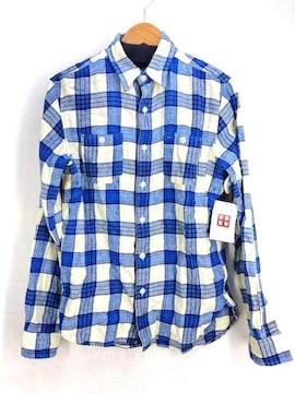 RRL RALPH LAUREN(ダブルアールエル ラルフローレン)フランネルボタンダウンシャツシャツ
