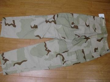 アメリカ軍 デザートカモ ミリタリーパンツ カーゴパンツ S