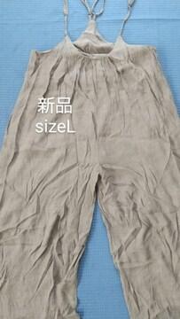 [新品]SizeL/ガウチョ/オールインワン//