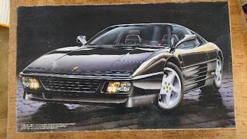 フジミ 1/24 フェラーリ 348tb ブラックスター
