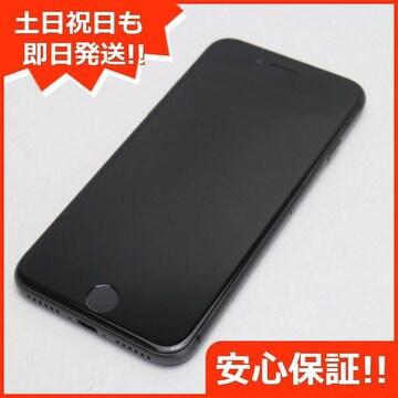 ●美品●DoCoMo iPhone8 256GB スペースグレイ ブラック●