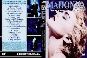 ≪送料無料≫MADONNA BLOND TOUR 1990 NICE STADE マドンナ
