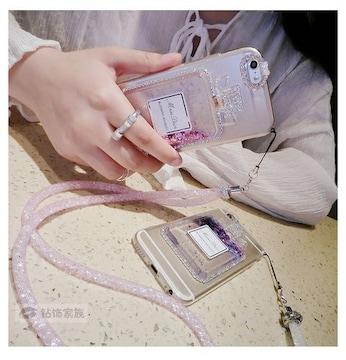 iPhone7 スマホケース スケルトンピンク