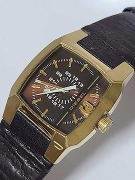 ディーゼルの腕時計メンズ クォーツ式 動作確認済み!。