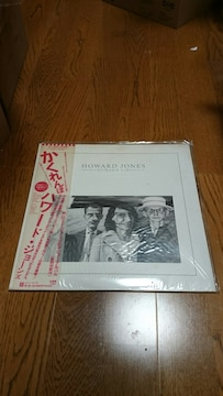 ハワード・ジョーンズ 「かくれんぼ」 LPレコード 国内盤 帯付き