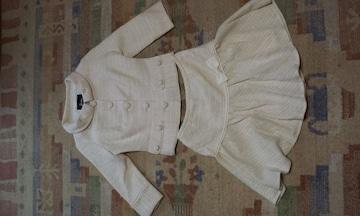バービー スーツ Barbie スカート ジャケット ホワイト 新品