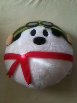 新品スヌーピー(大)フェイス型クッションクリスマスプレゼント