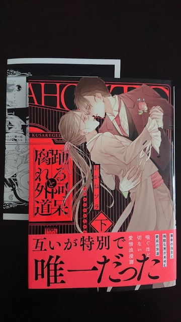 BL2月★踊る阿呆と腐れ外道����巻  あかねソラ★P2枚付 < アニメ/コミック/キャラクターの
