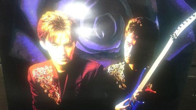 未使用 貴重!当時モノ B'z RISKYリスキー ポスター  1990 < タレントグッズの