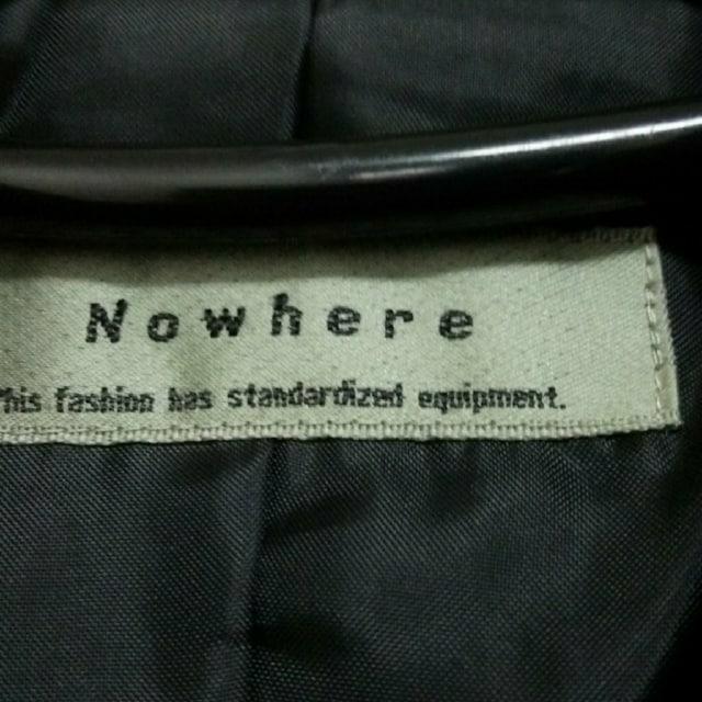 美品 黒 無地 Nowhere パンツ ワンピース スーツ < 女性ファッションの