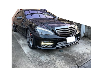 車検満タン AMGスポーツエディション Sクラス ベン w221 s550L