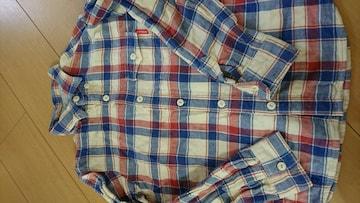 DOUBLE.B長袖シャツ中古  サイズ130 送料込み