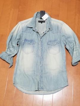 ◆ブリーチデニムシャツ◆
