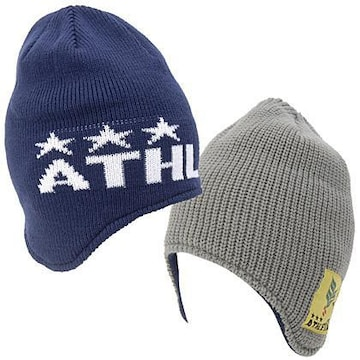 ATHLETA アスレタ リバーシブル ニット帽 キャップ 防寒