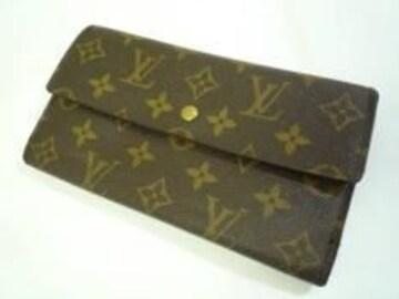 正規本物ルイヴィトン☆モノグラム3つ折り長財布