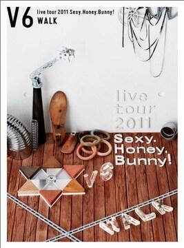 ■DVD『V6 live tour 2011 Sexy.Honey.Bunny!(WALK盤)(初回