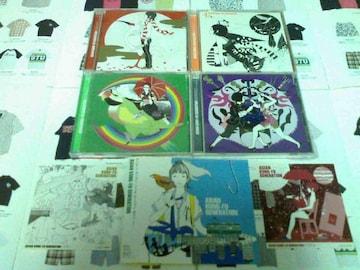 《アジカン》�Cセット+ステッカー�B枚 アジアン ROCK ロック