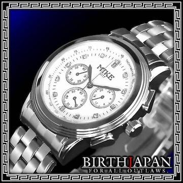 即決ヤクザ悪羅悪羅系腕時計/メンエグ&やくざオラオラ系チョイ悪小物/8117白