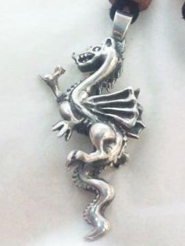 925 シルバー 龍 竜 ドラゴン ネックレス