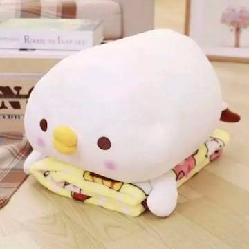 新品 日本未発売 カナヘイ ピスケ 毛布 ぬいぐるみ セット