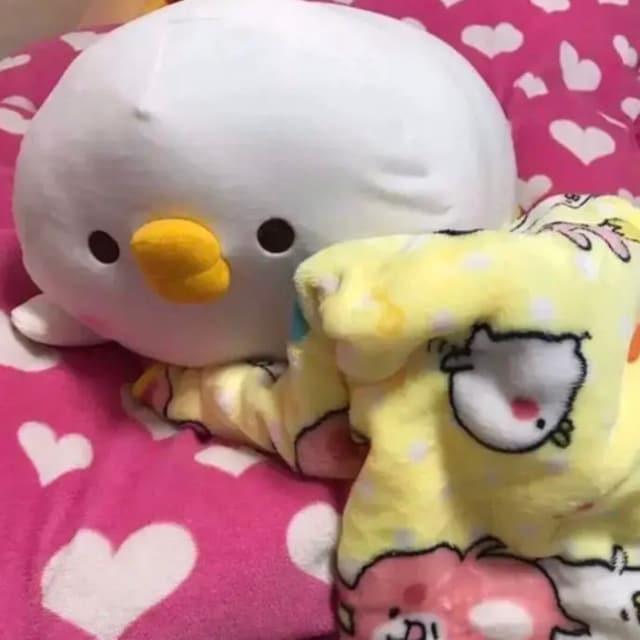 新品 日本未発売 カナヘイ ピスケ 毛布 ぬいぐるみ セット < おもちゃの