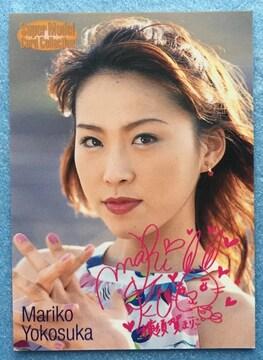 レースクイーン 横須賀まりこ カード 撮影 写真 トレカ 110