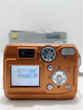 Z273 B★美品Nikon COOLPIX 4100 デジタルカメラ デジカメ