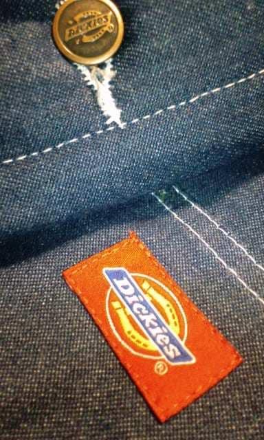 Dickiesディッキーズ デニム素材サイズ 4XL XXXXL防寒着 1枚限り < 男性ファッションの
