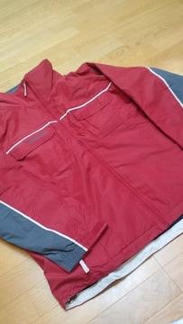 Colombia防寒ジャケット high quality ワインレッド サイズXL→2XL位