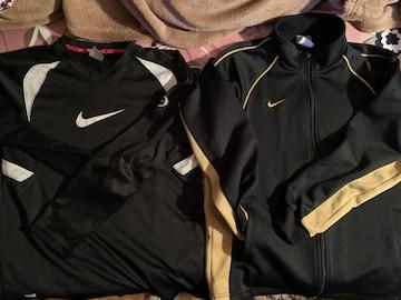 ナイキ NlKE  Mジヤジ+Tシヤツ長い袖160 〓色