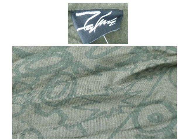 新品 futura 2000 フュチュ-ラ 長袖T-シャツ緑 M < 男性ファッションの