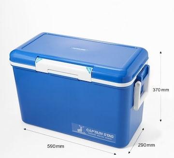 クーラーボックス 容量33L ブルー
