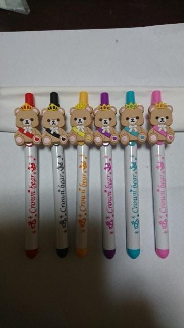ナムコ×King&Prince クラウンベアボールペン 6種類コンプ キンプリ  < タレントグッズの