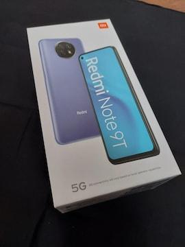 Redmi Note 9T  スマホ