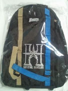 北海道日本ハムファイターズ 公式 ファンクラブ 限定 オリジナル リュックサック ブラック