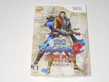 Wii★戦国BASARA 2 英雄外伝 ダブルパック スリーブケース付
