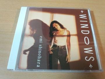 篠原恵美CD「ウィンドウズWINDOWS」声優●