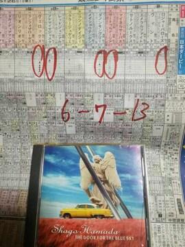 浜田省吾CD「青空の扉」歌詞カードなし
