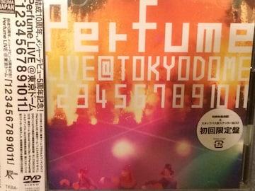 激安!超レア☆perfume/LIVE@東京ドーム☆初回盤DVD2枚組☆超美品