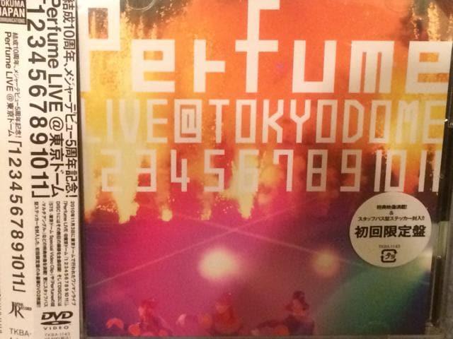 激安!超レア☆perfume/LIVE@東京ドーム☆初回盤DVD2枚組☆超美品  < タレントグッズの