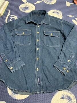 美品 デニムシャツ  140