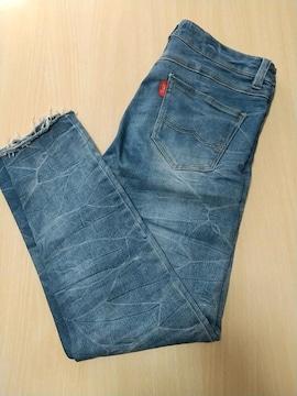 柔らかダメージジーンズ◆64cm