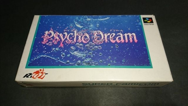 SFC Psycho Dream(サイコドリーム) / 箱・説明書付き スーパーファミコン  < ゲーム本体/ソフトの