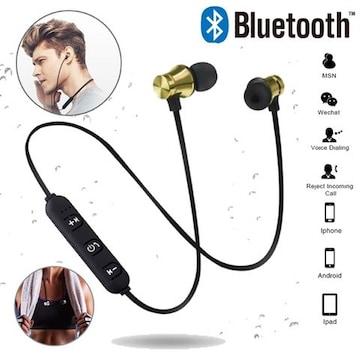 Bluetooth イヤホン ワイヤレスイヤホンマイク 両耳 ゴールド