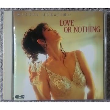 KF  中島みゆき  LOVE OR NOTHING