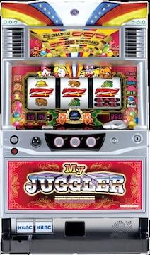 実機 マイジャグラー�V KD(3)◆コイン不要機付◆