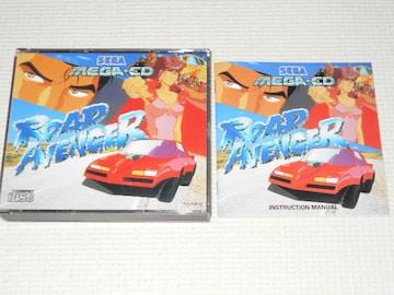 MD★ROAD AVENGER 海外版 MEGA・CD (国内本体動作可能)